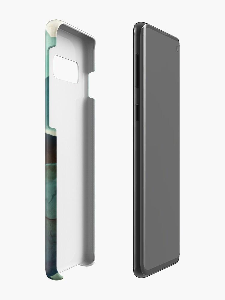 Alternate view of Indigo Mountains Case & Skin for Samsung Galaxy