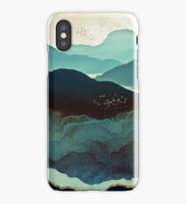 Indigo Mountains iPhone Case/Skin