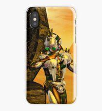 CYBORG TITAN IN THE DESERT OF HYPERION Sci-Fi Movie iPhone Case/Skin