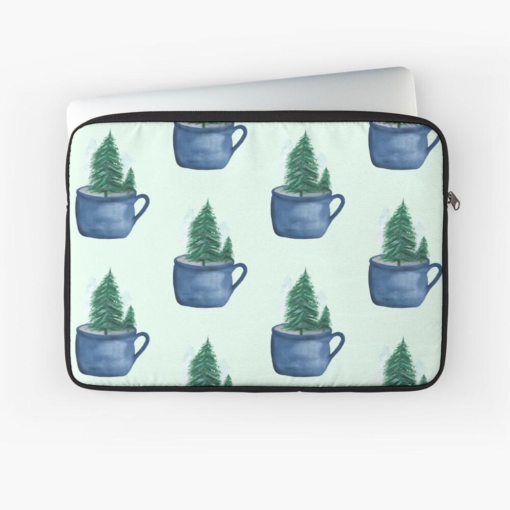 Oh Christmas Tea Laptop Sleeve
