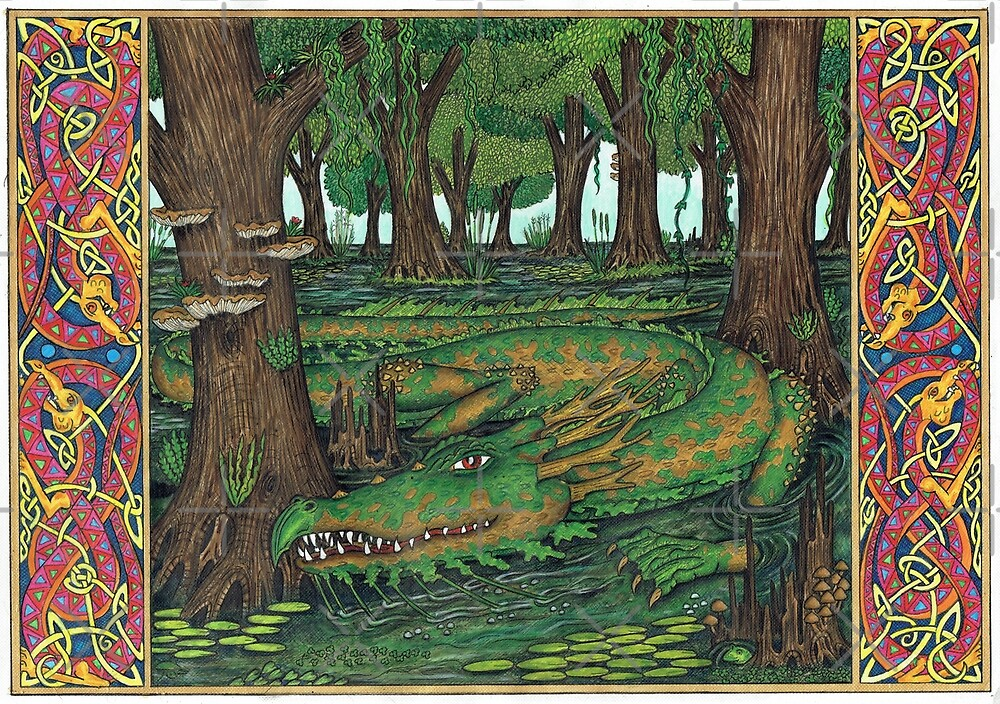 The Swamp Dragon by CherrieB