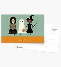 Spooky Postcards