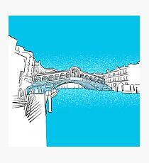 Venice Rialto Bridge Photographic Print