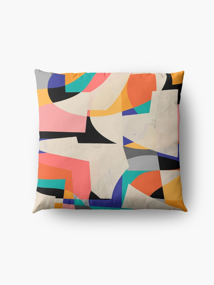 Alternate view of ColorShot III Floor Pillow
