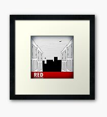 "Techtronic - ""Red"" EP Artwork Framed Print"