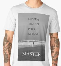 The Process of Mastery Men's Premium T-Shirt