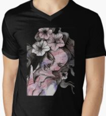 In The Year Of Our Lord (lady with petunias, sketch drawing) T-Shirt