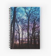 A Sunset In Maryland Spiral Notebook