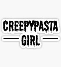 Creepypasta Girl Sticker