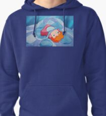 Ponyo Peeks From The Bubble - Ghibli Pullover Hoodie