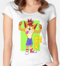 ¡¡Crash is back!! Women's Fitted Scoop T-Shirt