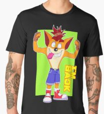 ¡¡Crash is back!! Men's Premium T-Shirt
