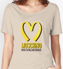 Moschino mcdonald Women's Relaxed Fit T-Shirt