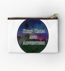 Keep Calm And Adventure Studio Pouch