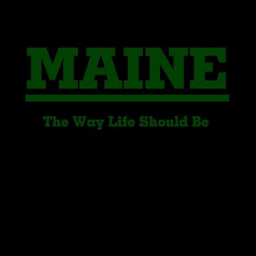 MAINE - The Way Life Should Be by mainephotobug