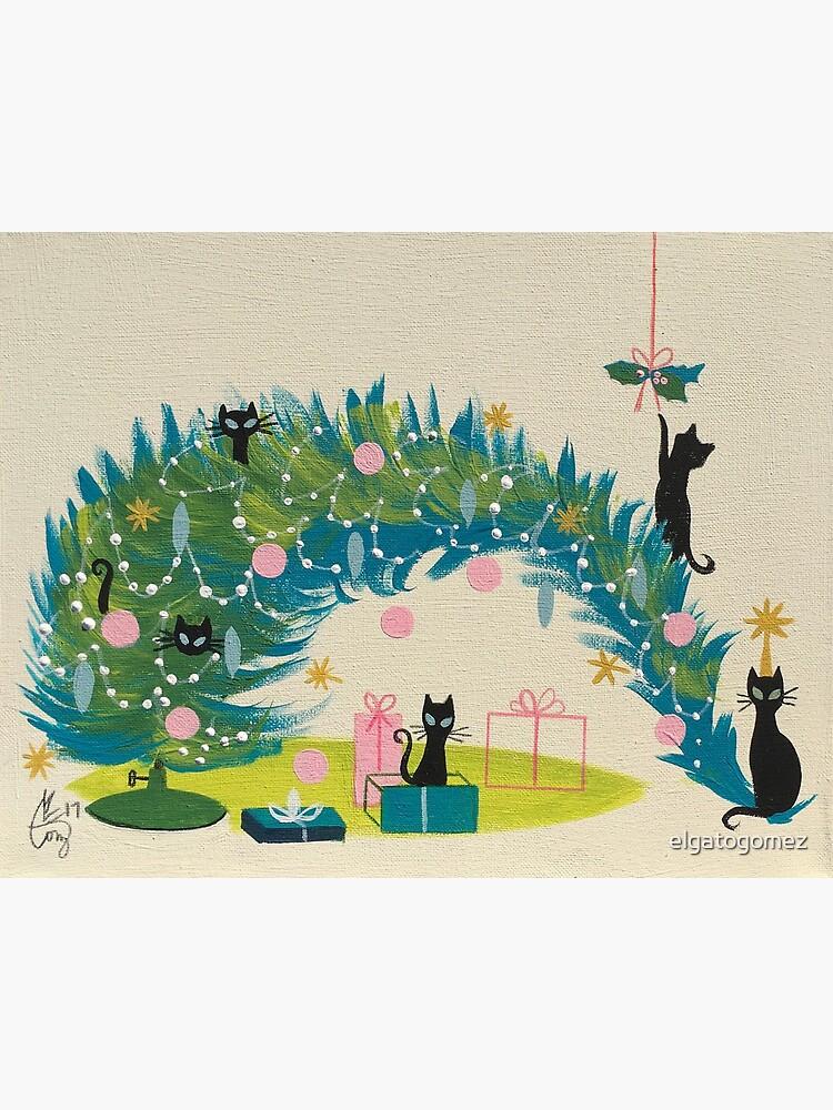 Holiday Catnip Fiasco by elgatogomez