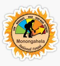 Monongahela National Forest Wildland Firefighter Sticker