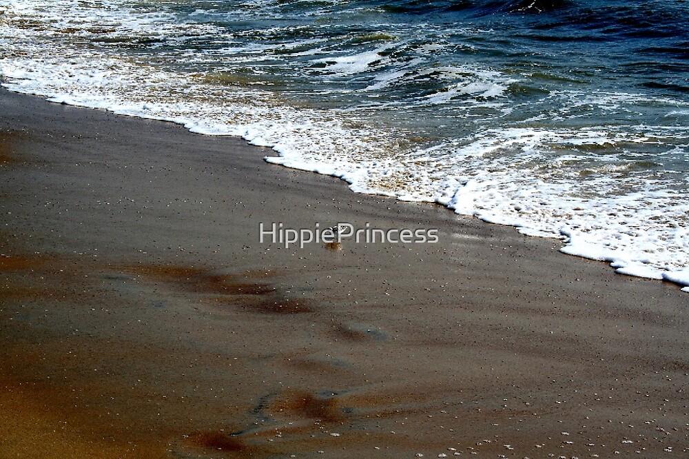 Little Bird and Wave by HippiePrincess