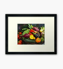 Harvest. Framed Print
