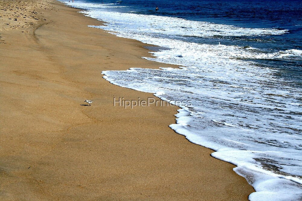 Wet Sand by HippiePrincess