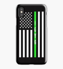 IGY6 Thin Green Line  iPhone Case/Skin
