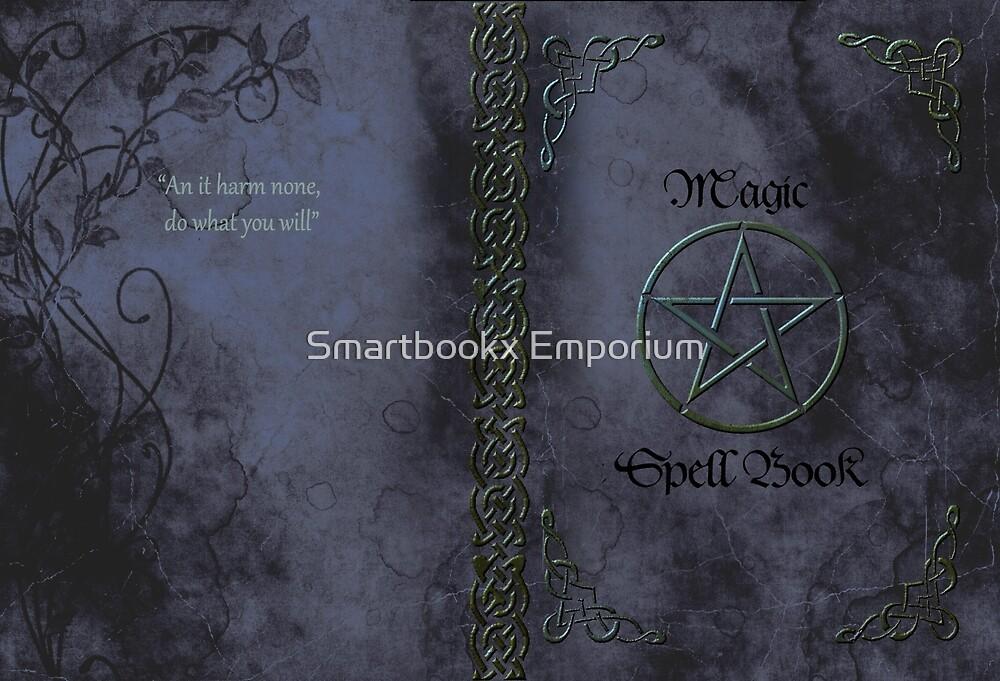 Pentacle Magic Spell Book Phone Cover by Smartbookx Emporium