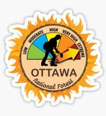 Ottawa National Forest Wildland Firefighter Sticker