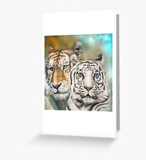 Tiger Mates Greeting Card