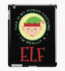 This Is My Human Costume Am Really An Elf Gift For Elf Costume Elf T-Shirt Sweater Hoodie Iphone Samsung Phone Case Coffee Mug Tablet Case iPad Case/Skin