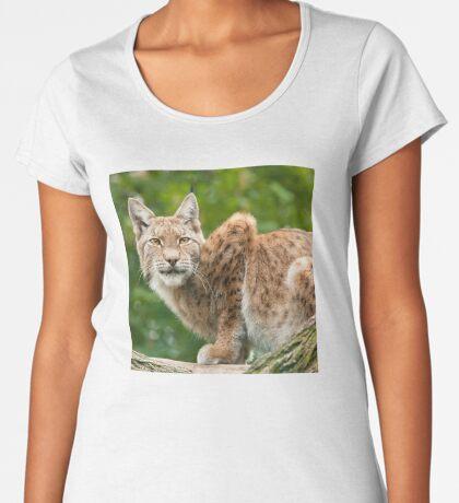 Golden eyes Women's Premium T-Shirt