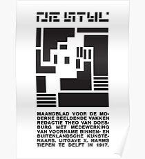 DeStijl#1 Poster