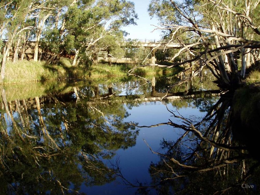 Reflections on the Campaspe by Clive