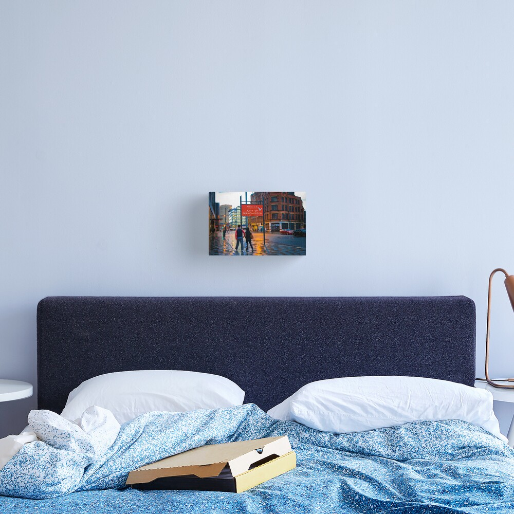 Welcome to Manchester Canvas Print