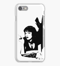 Pulp Fiction Mia Wallace iPhone Case/Skin