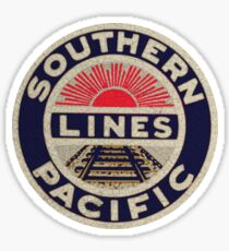 Southern Pacific Rail Line USA Sticker