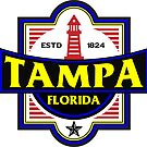 Tampa Florida Nautical Lighthouse by MyHandmadeSigns