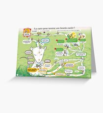 The map to find its hidden need Greeting Card