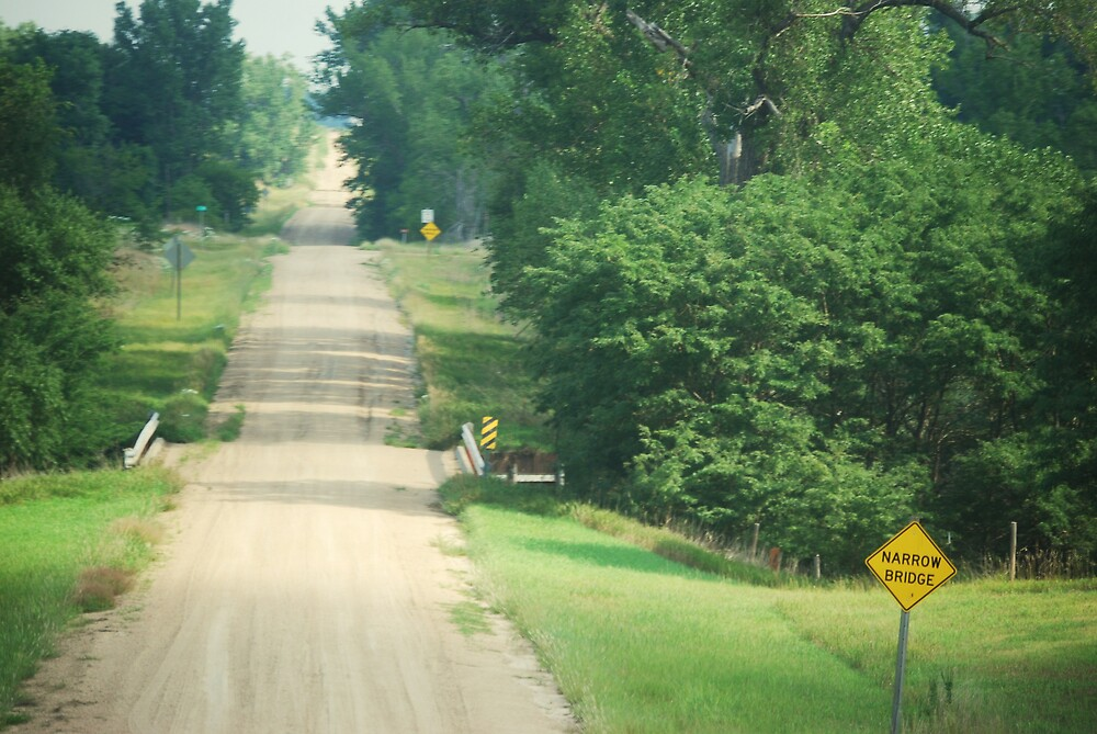 Kansas country road by marycloch