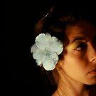 flor azul by Danielle  Kay