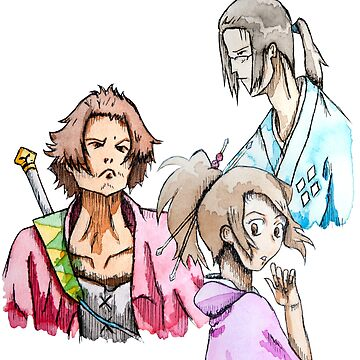Inktober Champloo by PikachuHat