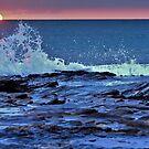sunset tide pools by Stephen Burke
