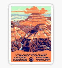 Grand Canyon National Park USA Sticker