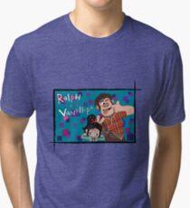 RALPH & VANELLOPE Tri-blend T-Shirt