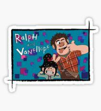 RALPH & VANELLOPE Sticker