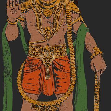Ram bhakt Hanuman by ramanandr