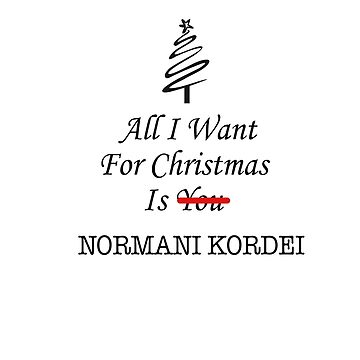 All I want is Normani de AAbi