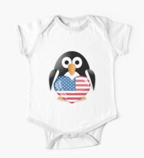 Funny penguin One Piece - Short Sleeve