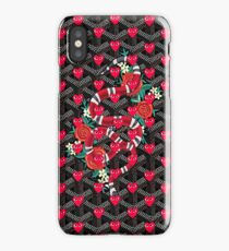 Goyard Pretty Snake comme des garcons iPhone Case/Skin