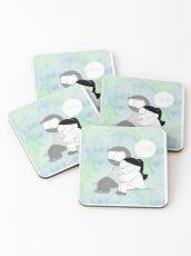 Mine - Watercolor Coasters