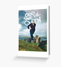 God Save The Queen Greeting Card